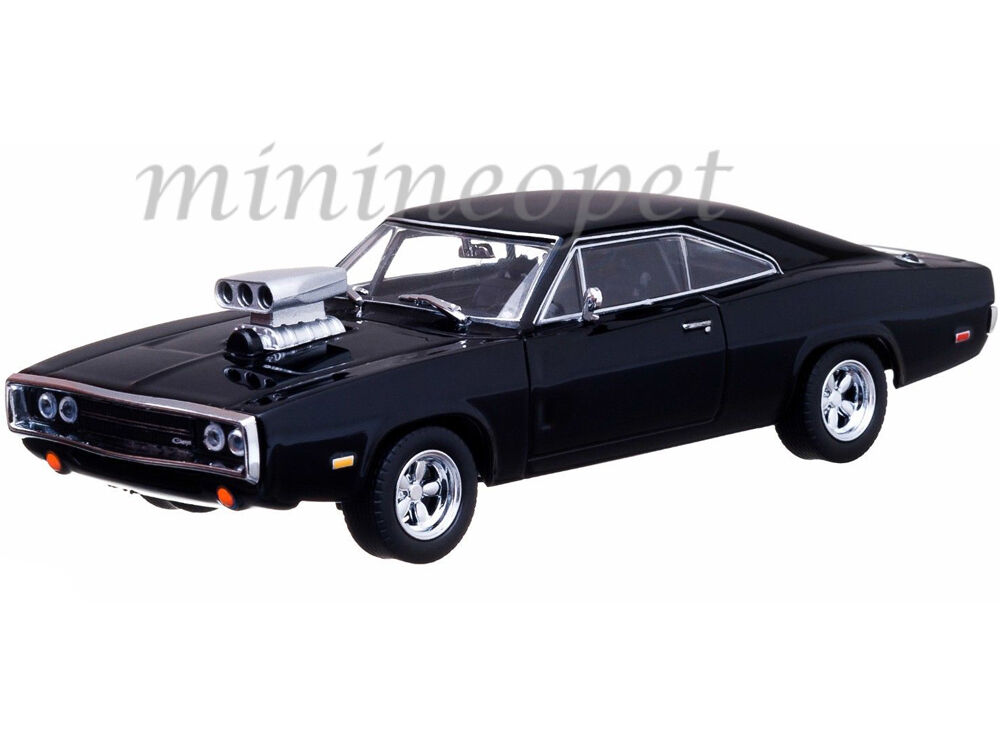 greenlight 86201 2001 the fast and the furious 1970 dodge charger r t 1 43 black ebay. Black Bedroom Furniture Sets. Home Design Ideas
