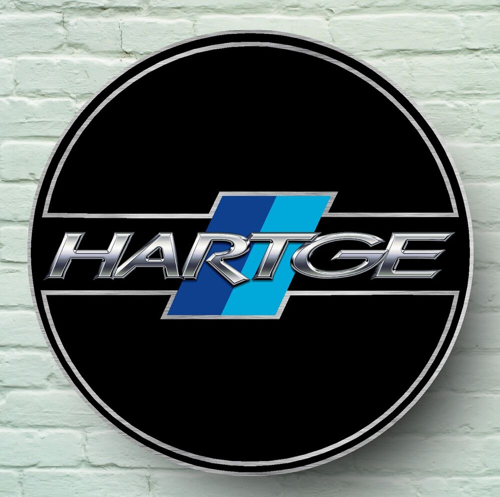 Hartge Logo 2ft Large Garage Sign Wall Plaque Car Workshop