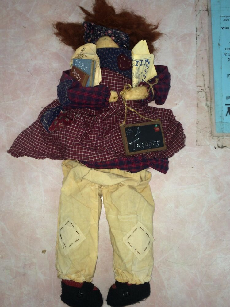 Attic Babies By Marty Maschino 1 Teacher Primative Doll