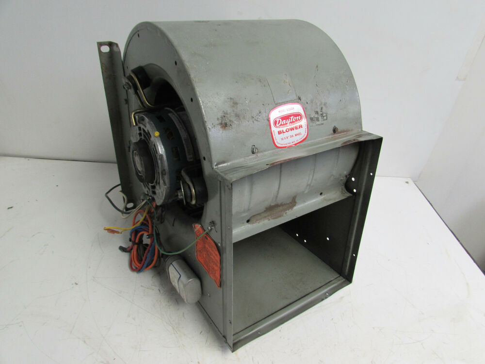 Industrial Blower Wheels : Dayton c a blower w motor quot wheel diameter