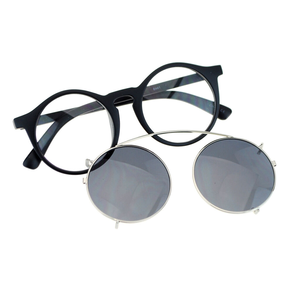 Glasses Frames With Removable Arms : Removable Lens Sunglasses To Glasses Round Circle Keyhole ...