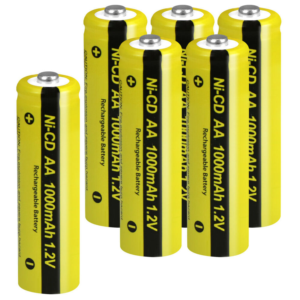 Aa Nicd Rechargeable Batteries Autos Post