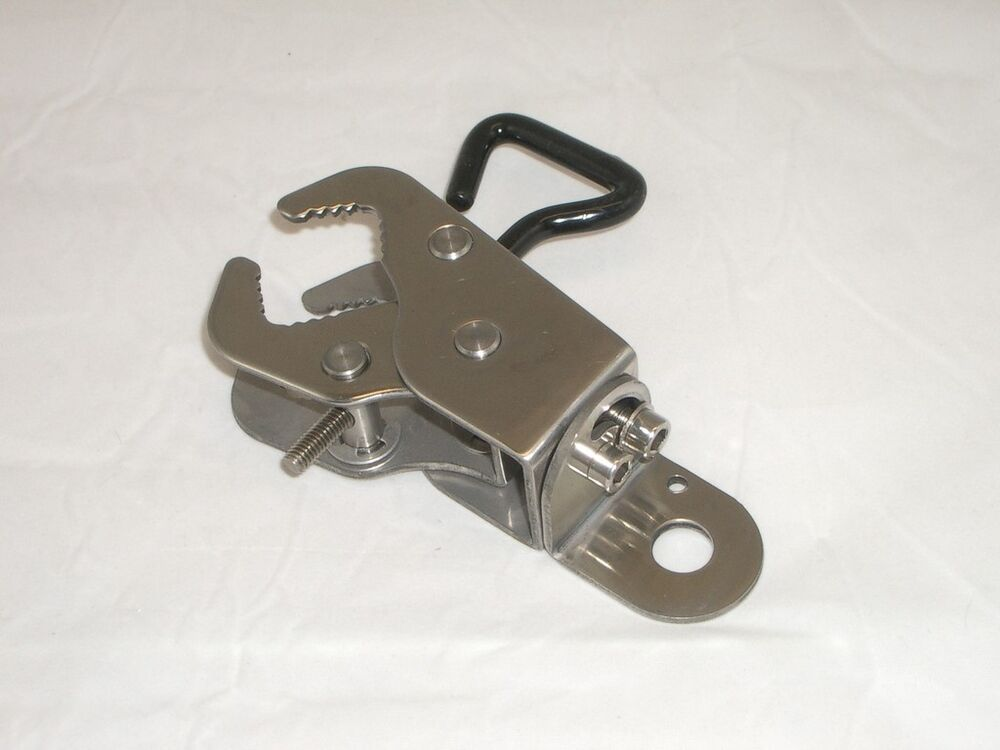Workman qrcs stainless steel quick release jaw clamp
