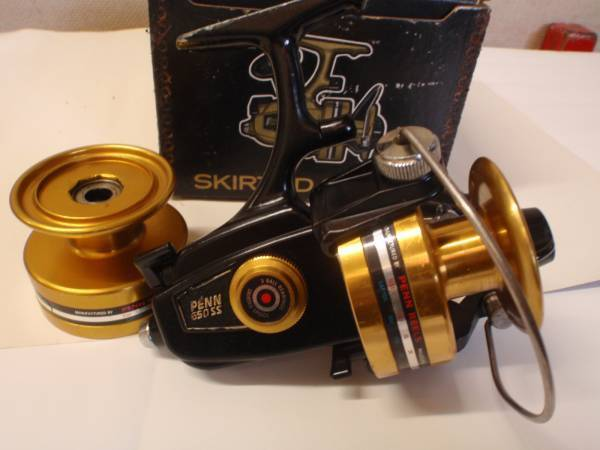 Penn 650ss spinning fishing reel made in usa reel of for American made fishing reels