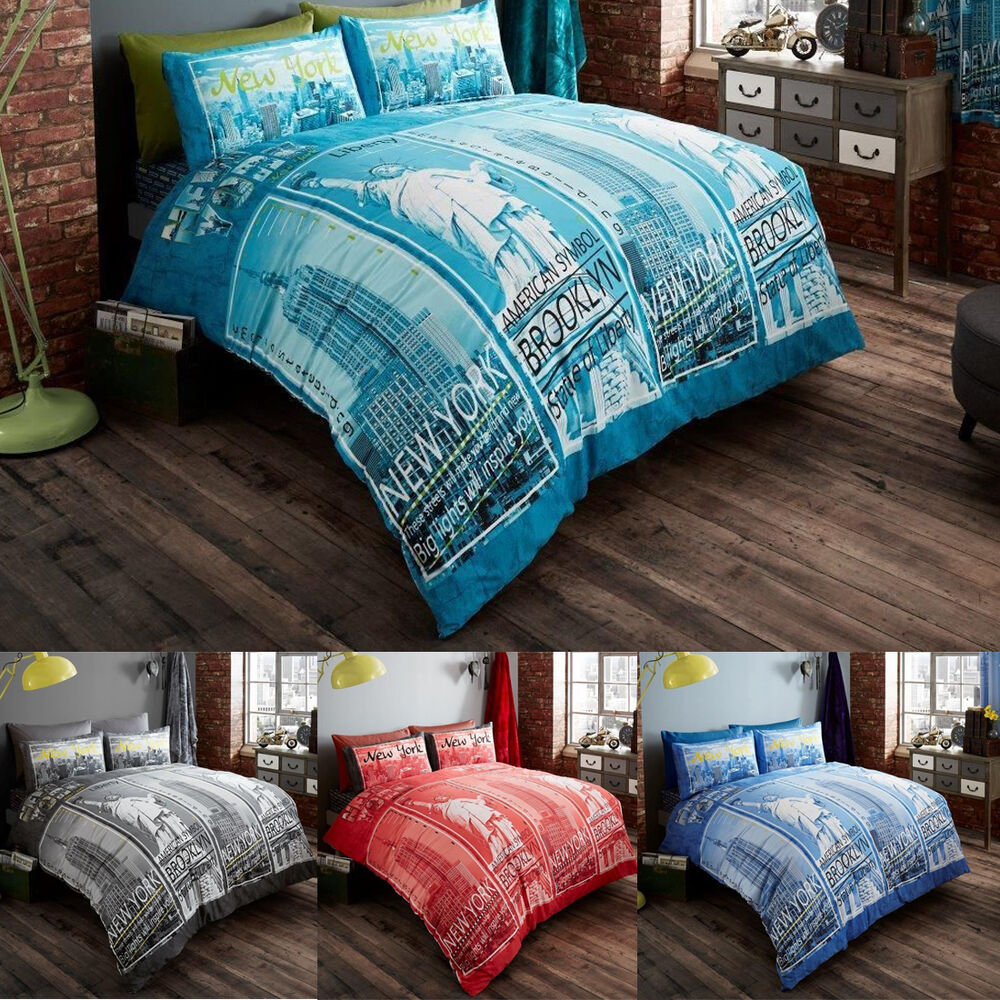 Nyc Bedding Set