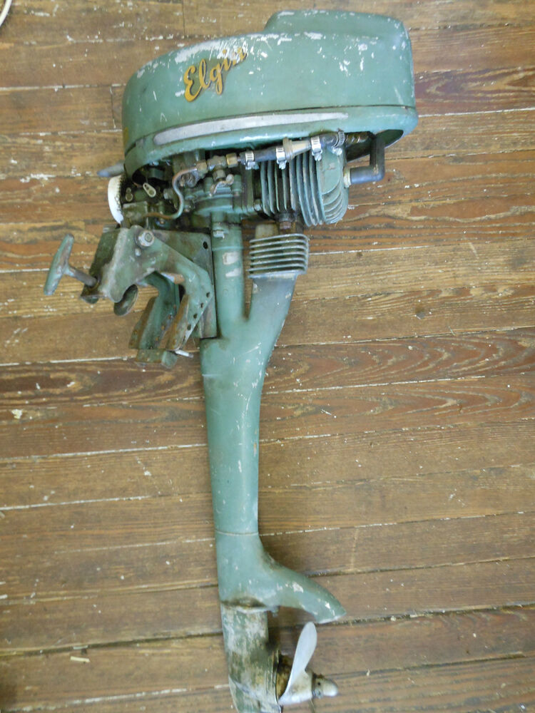 Elgin outboard motor 1 1 4 hp 1948 1951 sears model 571 for Waterwitch outboard motor parts