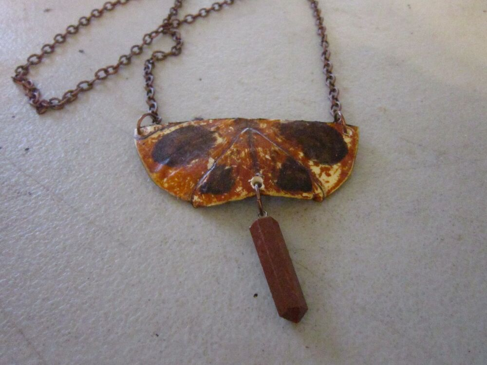 Peace love turtle chain necklace real red slider shell for Real tortoise shell jewelry