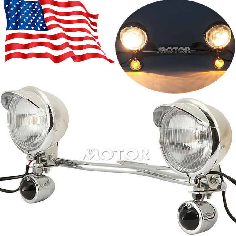 Passing Light Bar Turn Signals For Harley Davidson Softail