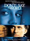Dont Say a Word (DVD, 2005, Checkpoint Sensormatic Lenticular Widescreen)