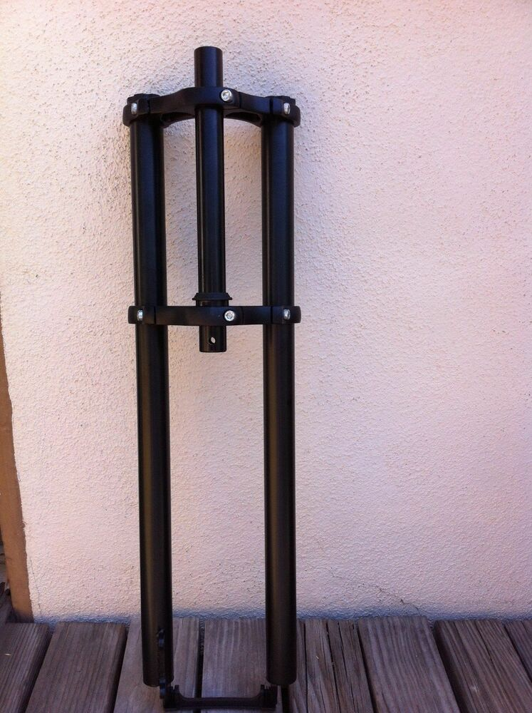 Bicycle Black Triple Tree Fork 22 Quot Long Threadless Disc