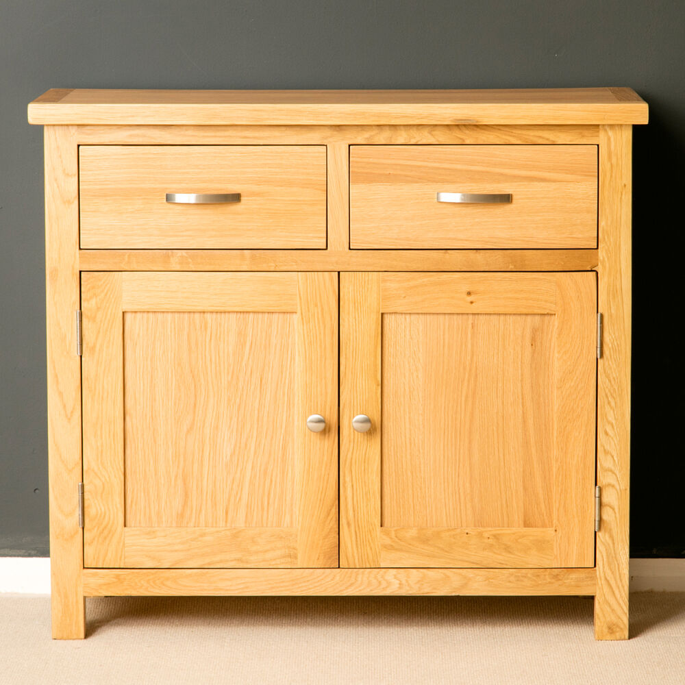 London oak small sideboard brand new light cupboard