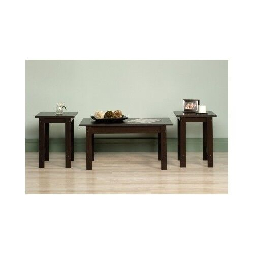 Coffee table set 3 piece furniture living dining bed room for 3 piece dining room table