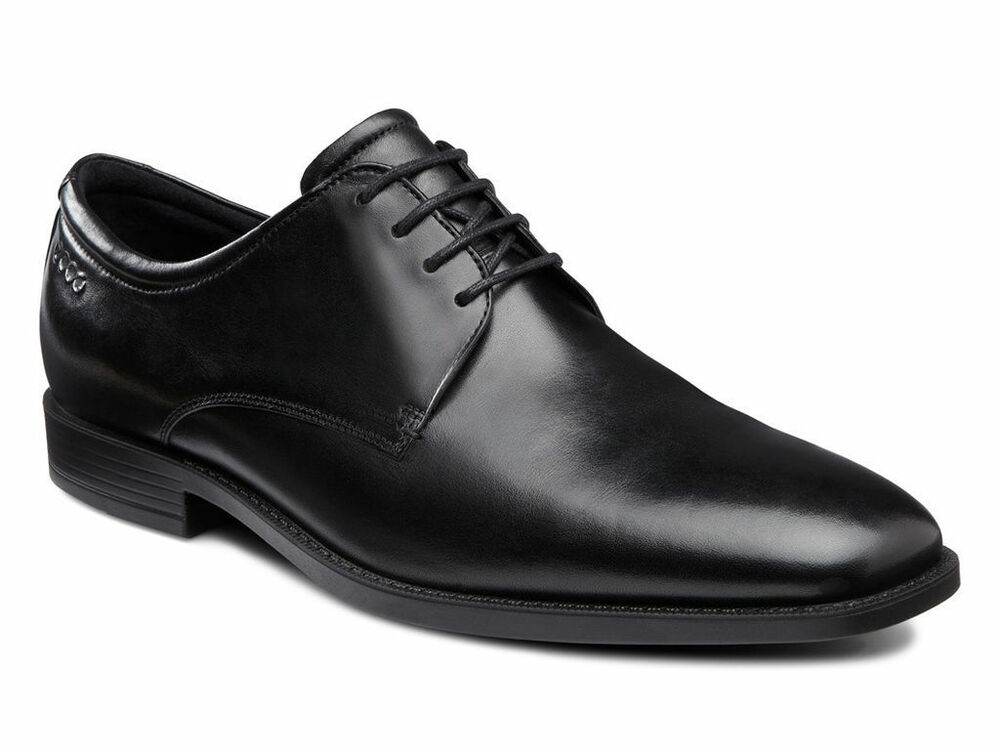 Daily Plain Black Dress Shoes