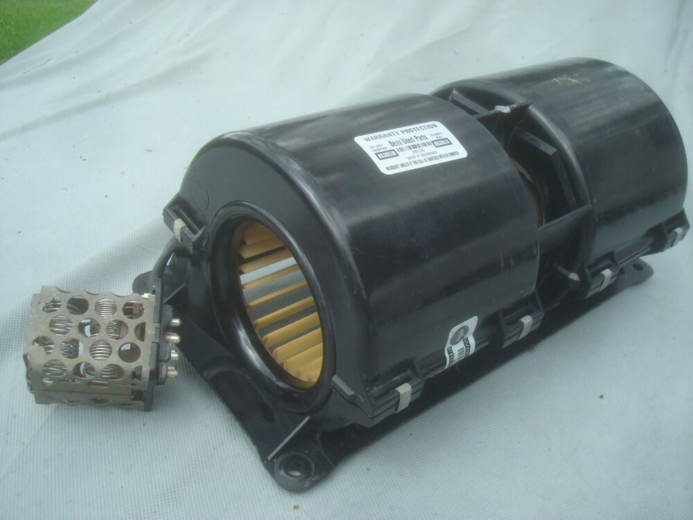 Mercedes 107 Blower Motor With 7 Pin Resistor 3 Speed