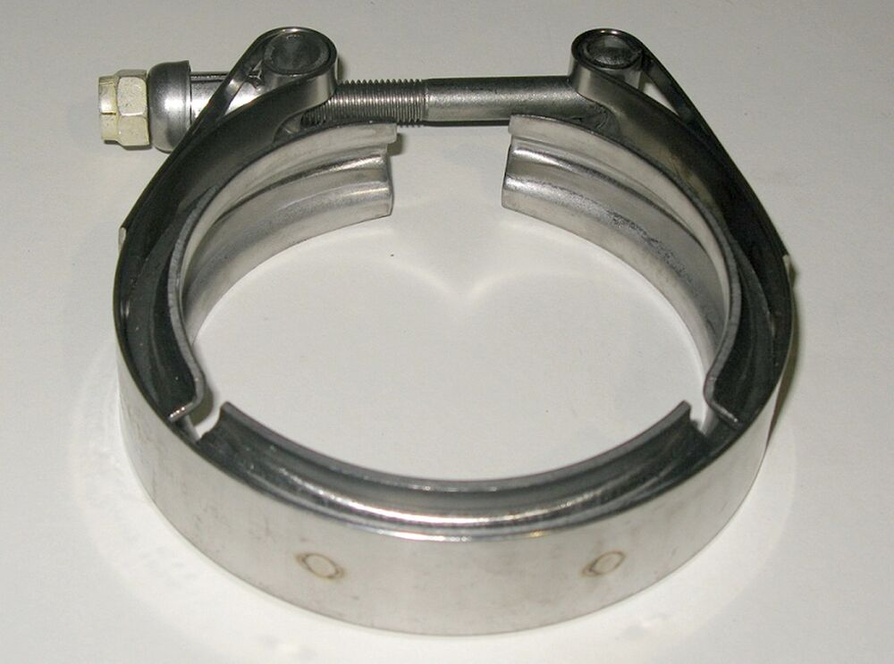 Clampco cs v band clamp quot stainless steel high