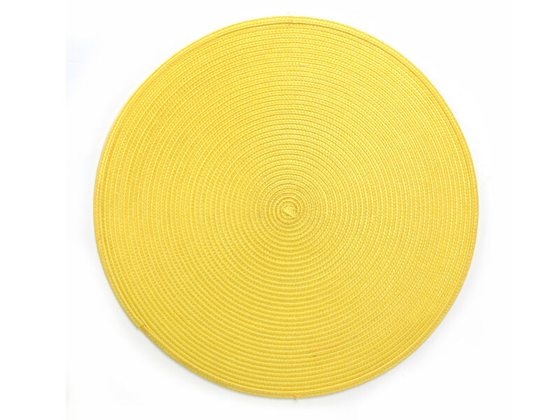 Round Placemats Vinyl Plastic Table Linens Wipe Clean ...