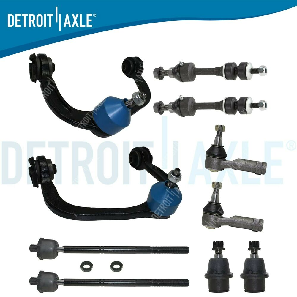 2008 Maybach 57 Suspension: New 10pc Complete Front Suspension Kit For Ford F-150 2WD