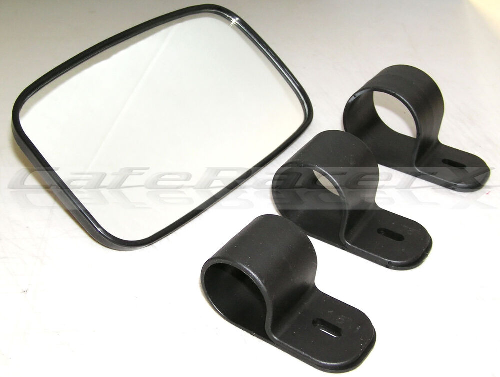 Utv Rear View Mirror Yamaha Rhino Kawasaki Mule Polaris
