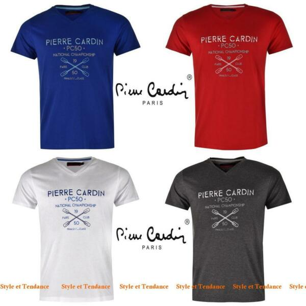 T-shirt pour Homme PIERRE CARDIN Neuf Col V