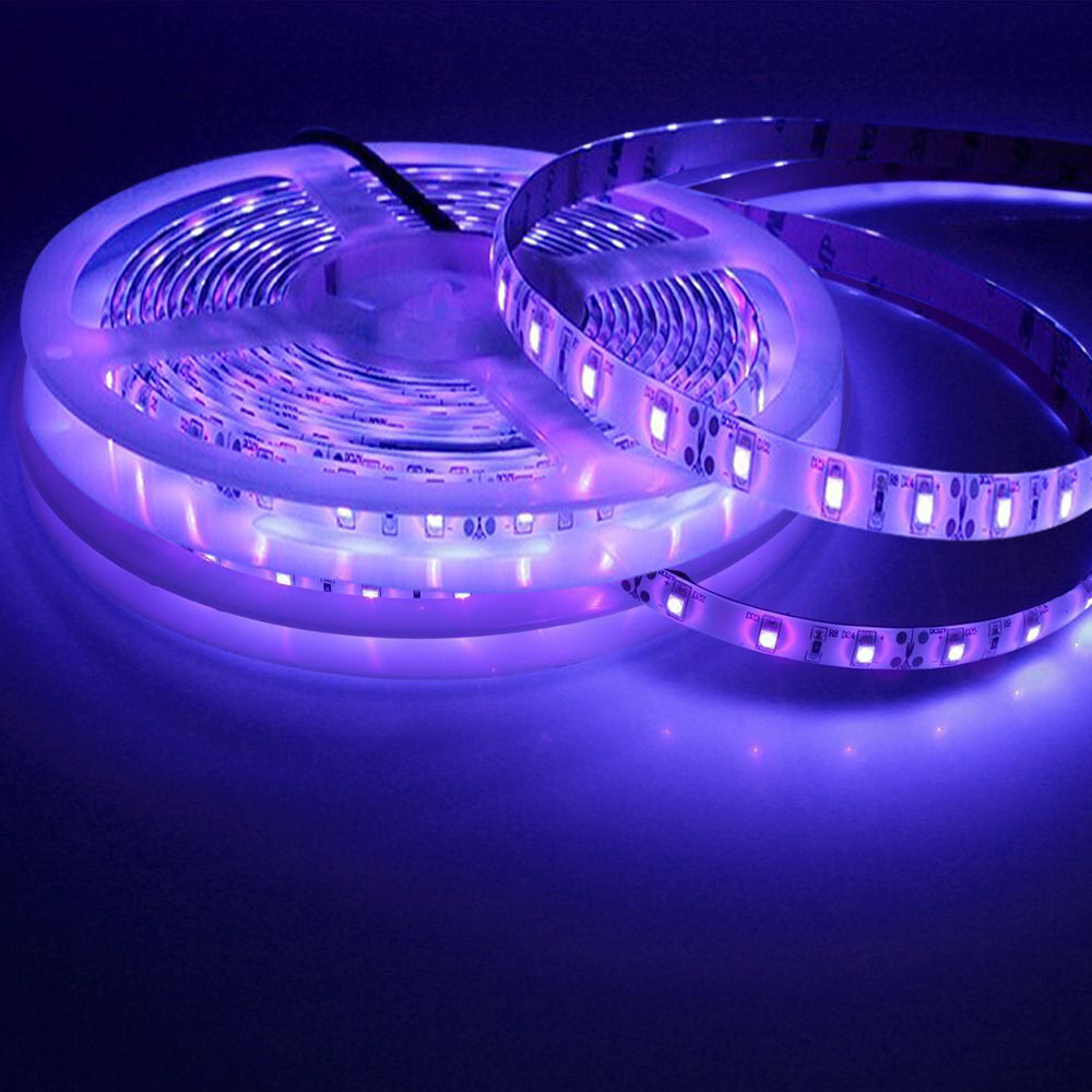 10m waterproof 600 uv ultraviolet led blacklight strip