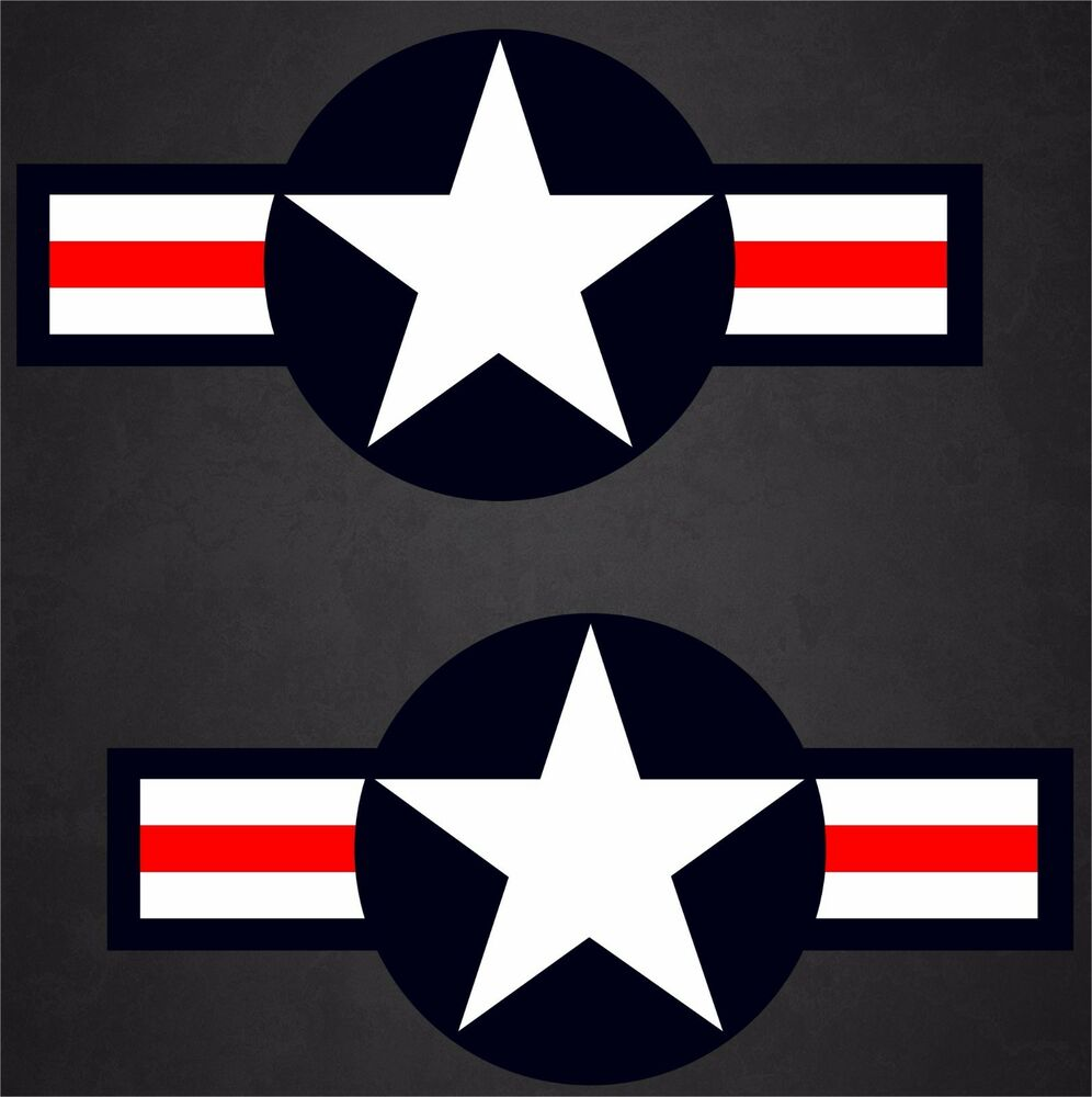 2 23 Quot X47 Quot Usaf Aircraft Insignia Sticker Military Decal
