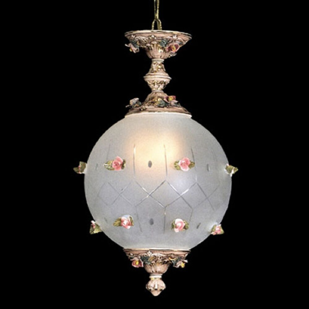 ... Ceiling Globe Fixture with 2 Lights 22