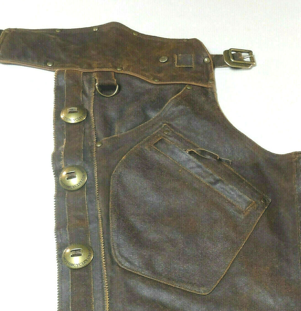 Harley Davidson Leather Chaps Motorcycle
