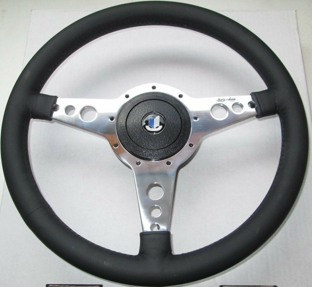 New Moto Lita 14 Quot Leather Steering Wheel Amp Adaptor Triumph