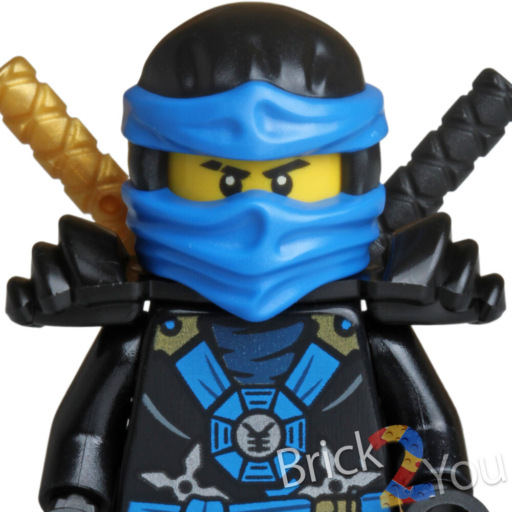 Lego ninjago jay w golden black katanas from 70732 city of stiix new ebay - Ninja ninjago ...