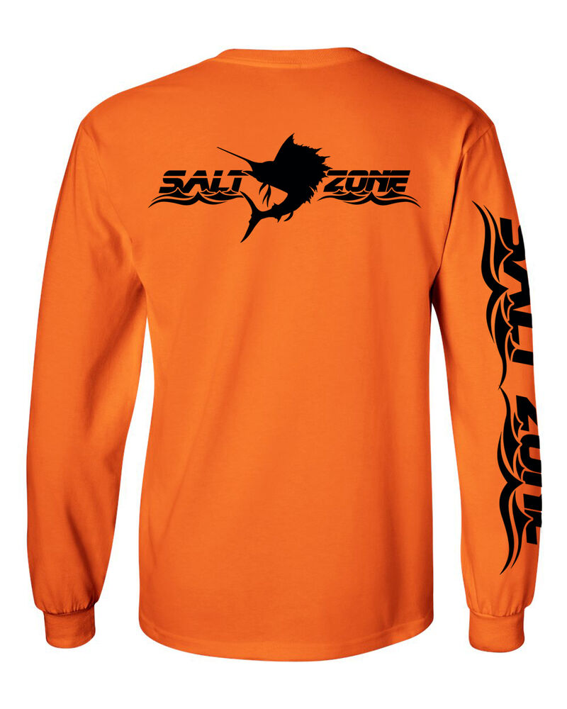 Salt zone ultra performance wear saltwater long sleeve for Saltwater fishing clothes