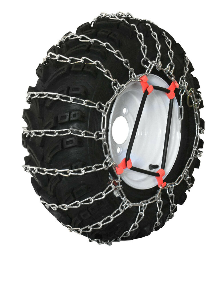 Lawn Tractor Tire Chains : Grizzlar gtu garden tractor tire chains