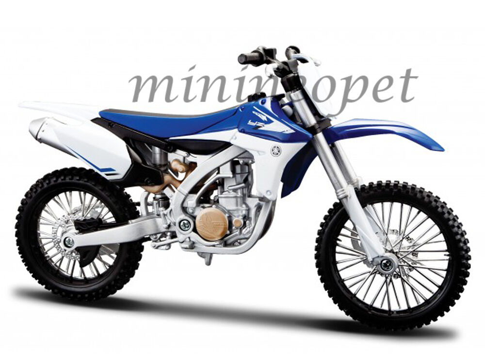 maisto 20 13021 yamaha yz 450f dirt bike motorcycle 1 12. Black Bedroom Furniture Sets. Home Design Ideas