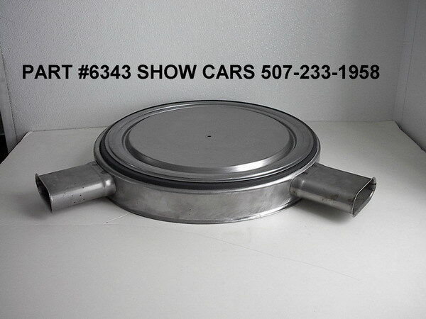 Chevy 409 Air Cleaner : Chevy chevrolet impala ss air cleaner with
