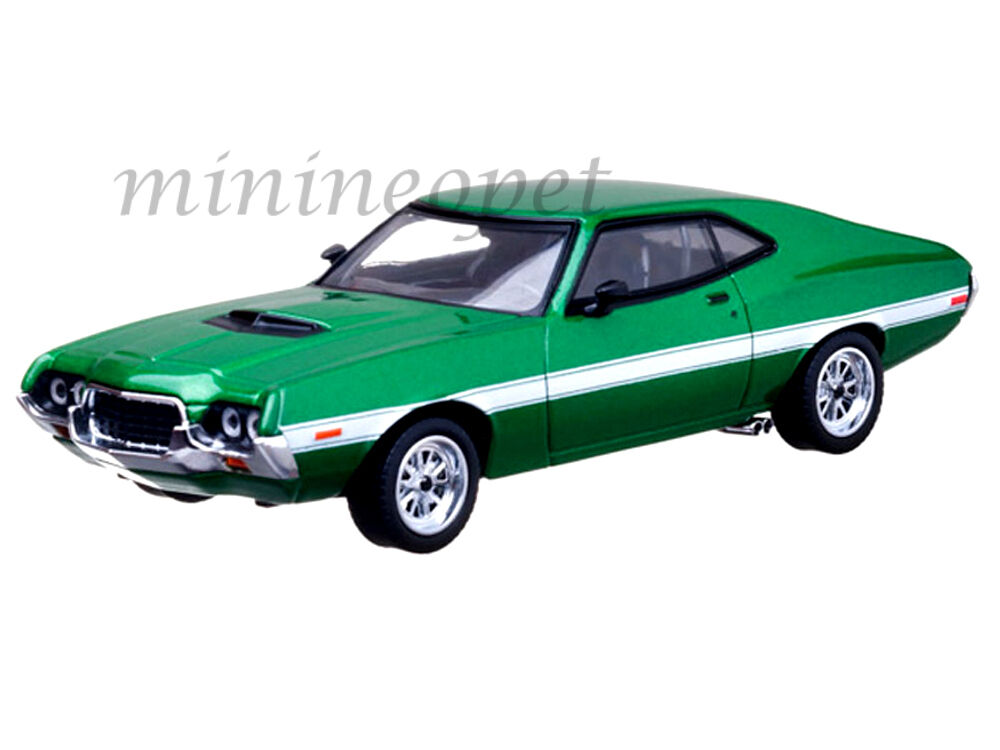 greenlight 86218 the fast and the furious 1972 ford gran torino 1 43 green ebay. Black Bedroom Furniture Sets. Home Design Ideas