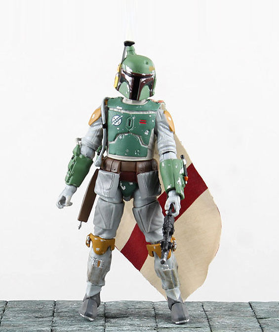 "Used Star Wars Toys: Star Wars Bounty Hunter Boba Fett 6"" Loose Action Figure"