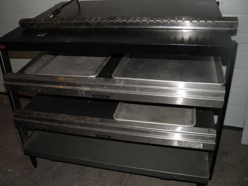 Used Food Warmers ~ Hatco glo ray grpws t triple scant display pizza food