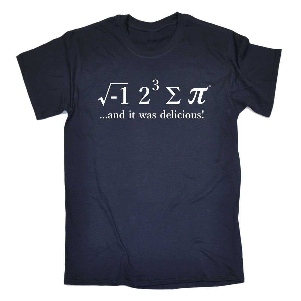 f6a86fa9c0a Details about Funny T Shirts Novelty I Ate Some Pi tshirt Maths 8 Sum Pie  birthday shirt tee