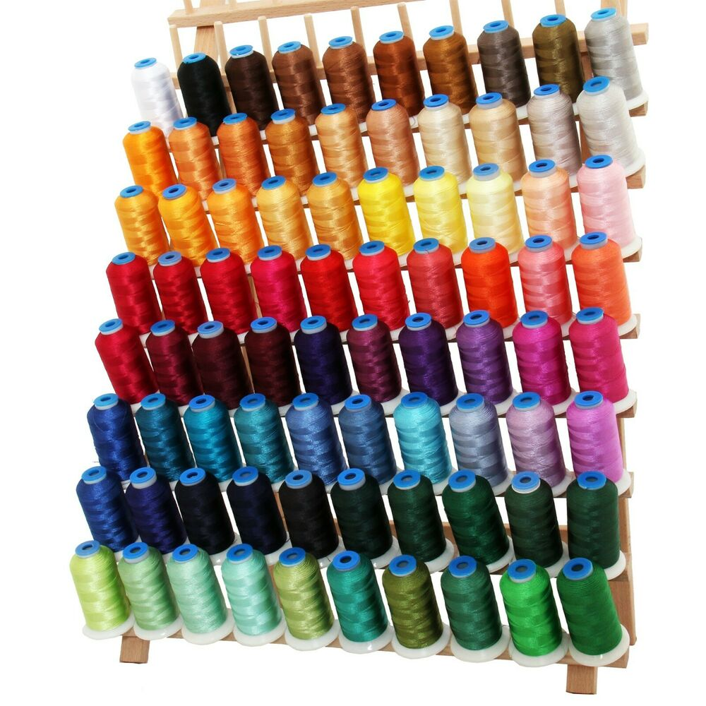 MACHINE EMBROIDERY POLYESTER THREAD SET CampD  BIG 1000M