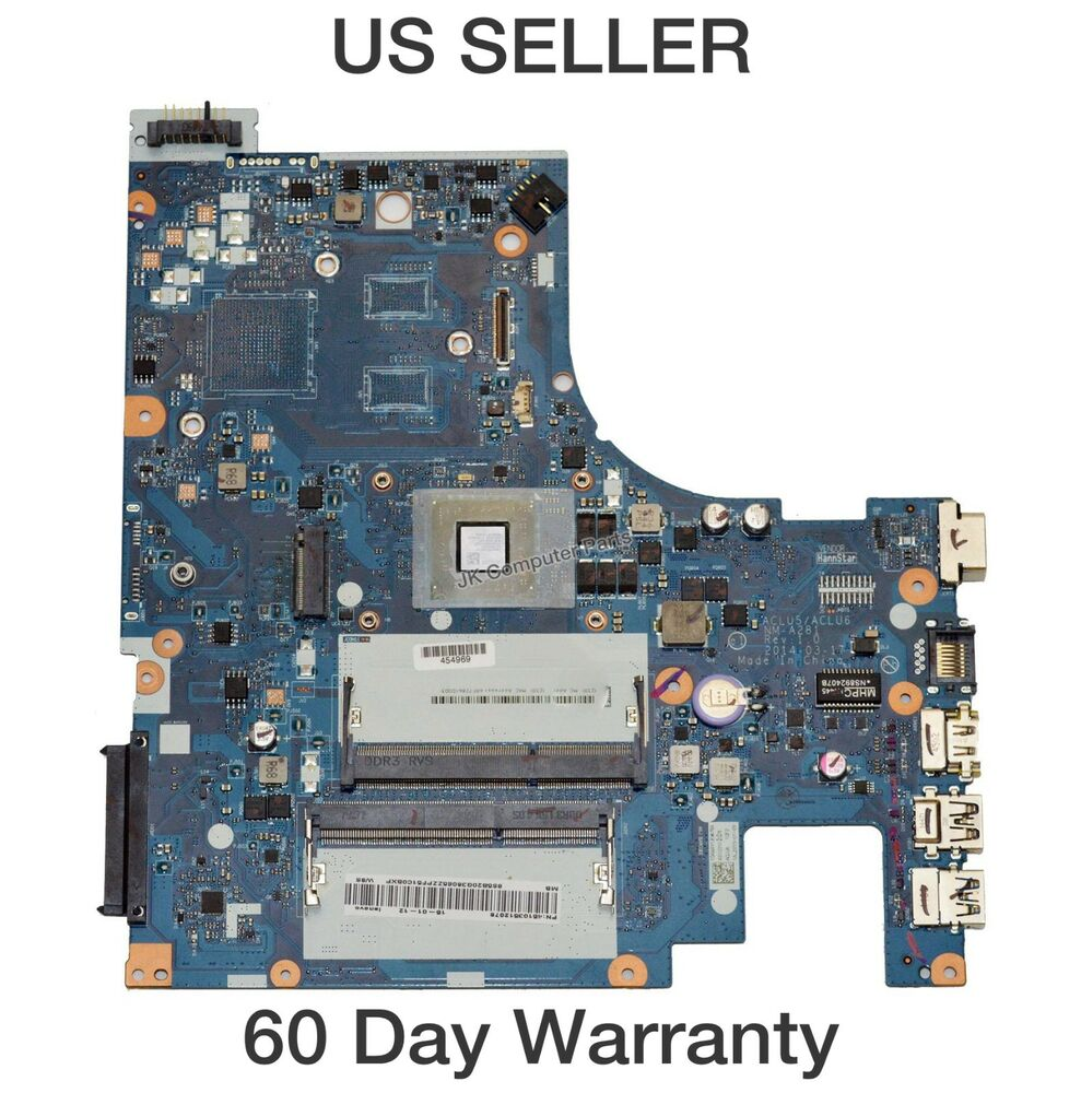 Lenovo G50 45 Laptop Motherboard W AMD A8 6410 2GHz CPU