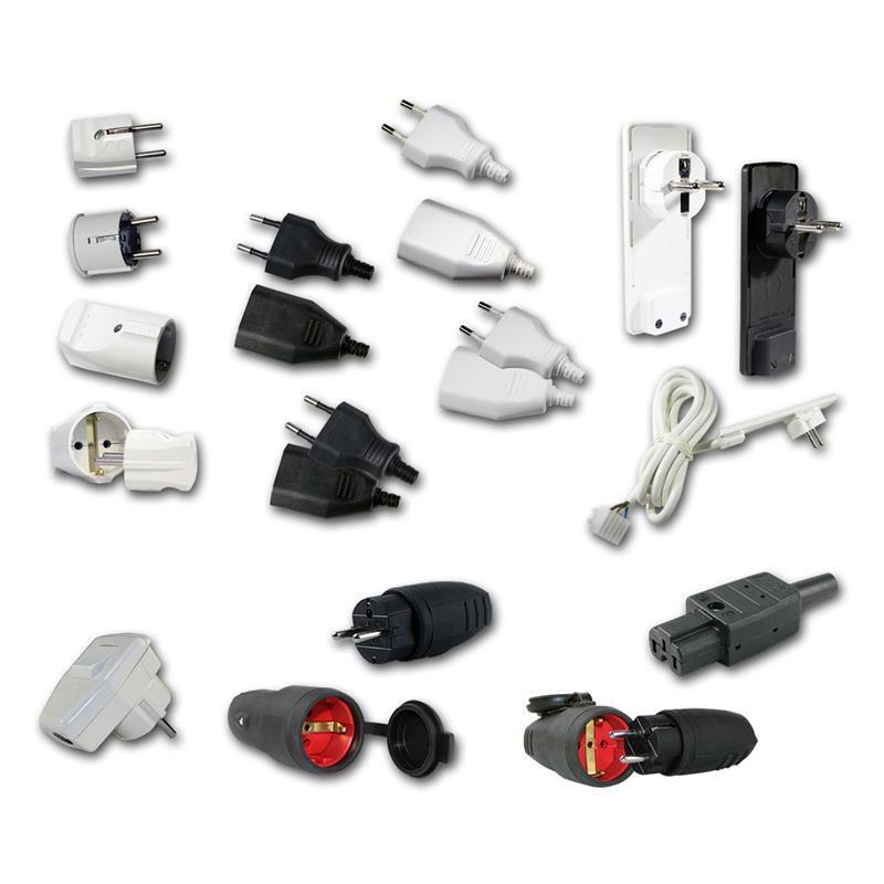 Different Types Of Power Cables : V connectors different types connector plug coupler