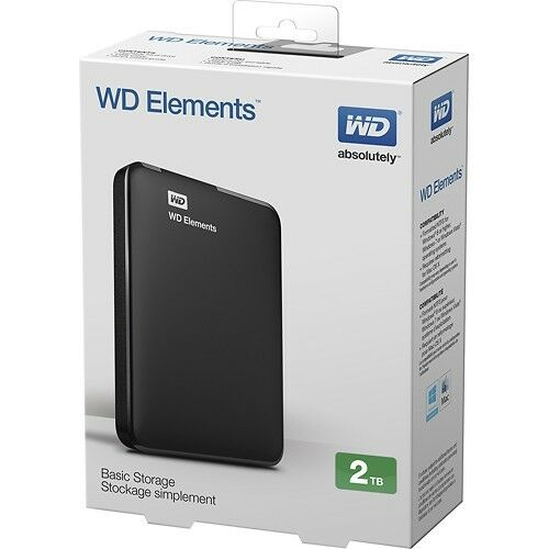 WD Elements hard drive