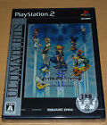 KINGDOM HEARTS II 2 FINAL MIX + RPG SQUARE ENIX - PRECINTADO NEW SEALED PS2