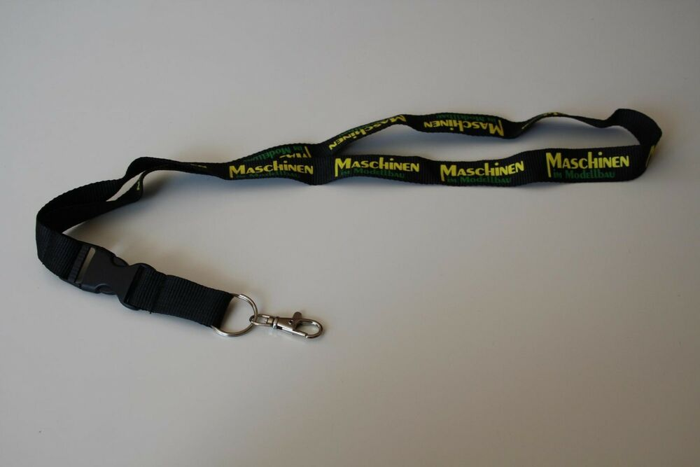 maschinen im modellbau schl sselband lanyard keyholder neu ebay. Black Bedroom Furniture Sets. Home Design Ideas