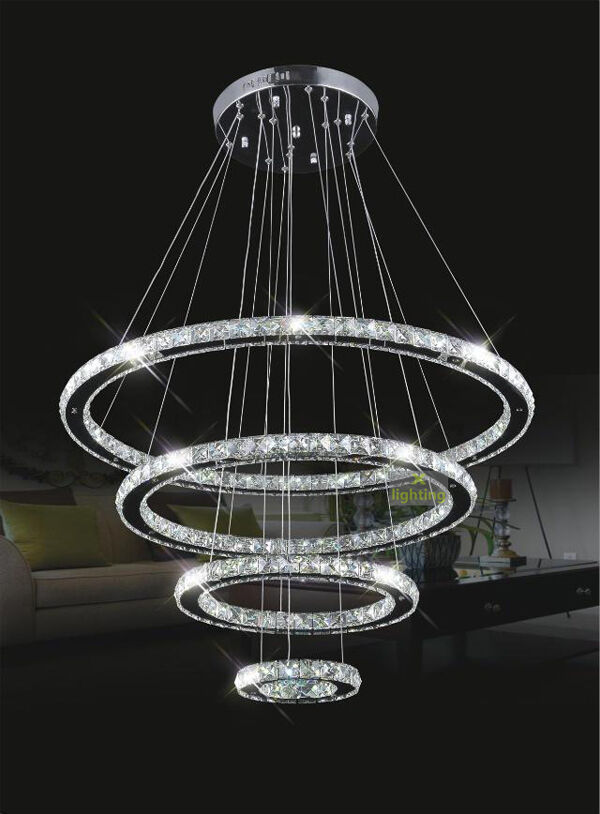 Modern Galaxy Crystal Chandelier Led Lighting Fixture