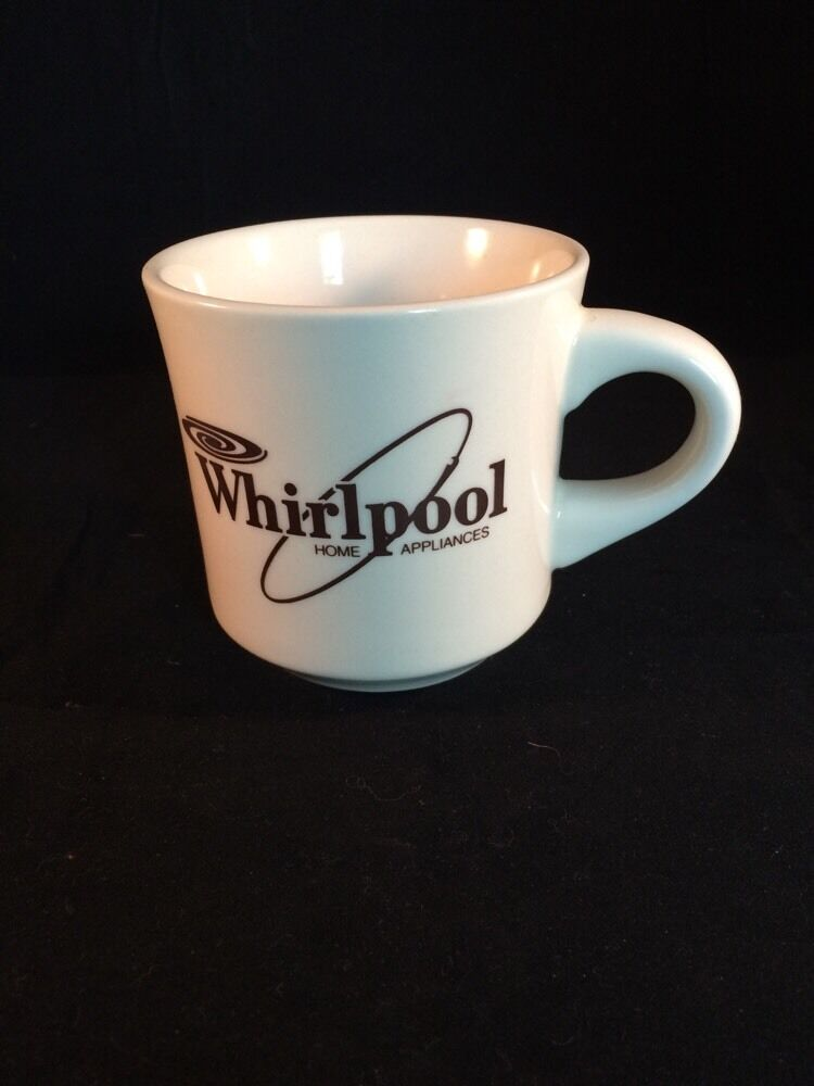 Vintage 1980s whirlpool home appliances coffee mug ebay for Best coffee mugs for home