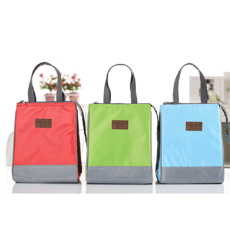 thermal insulated lunch bag beauty tote cooler zipper bag bento trendy lunch box ebay. Black Bedroom Furniture Sets. Home Design Ideas