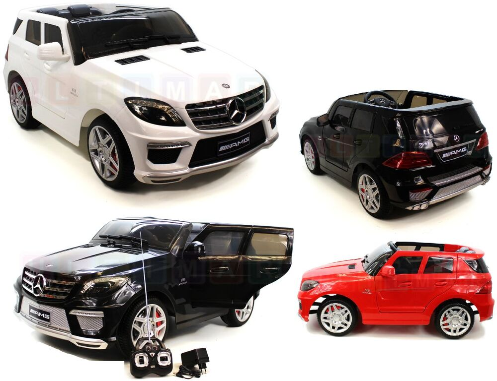 kinderauto mercedes ml63 amg elektroauto kinderfahrzeug. Black Bedroom Furniture Sets. Home Design Ideas