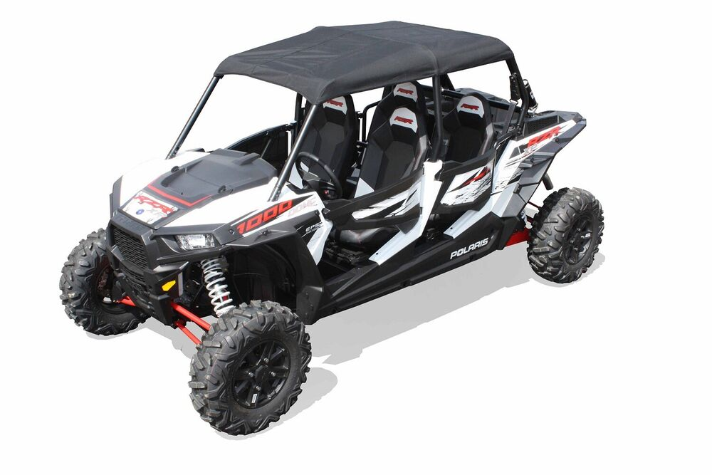 dragonfire racing black softtop roof polaris rzr xp 4 900 xp 4 1000 ebay. Black Bedroom Furniture Sets. Home Design Ideas