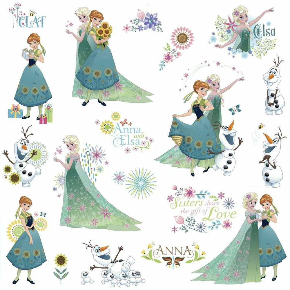 Frozen Fever Room Decor