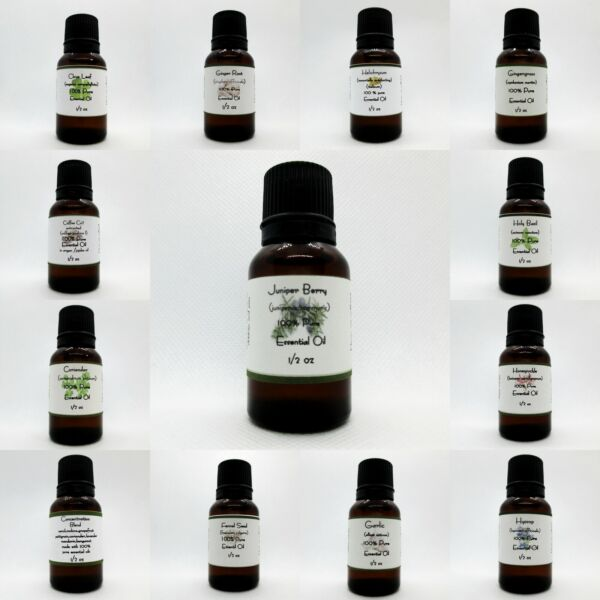 100% Pure Essential oils Buy 3 get 1 free add 4 to cart therapeutic Fragrances